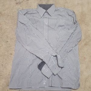 Other - Ragazzo Uomo Mens Dress Shirt Checkers Size 18R